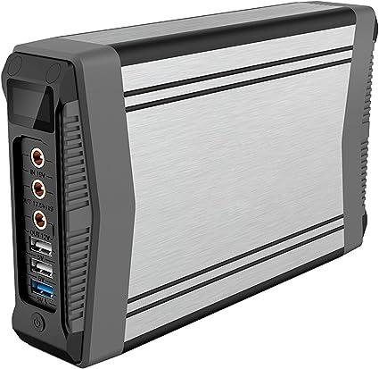 Amazon.com: 200 WH (5/12/13.05/17.5/19 V) cargador portátil ...