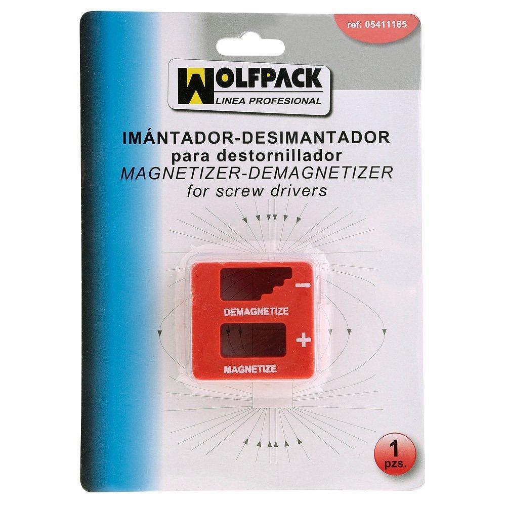 Wolfpack 5411185 Imantador y desimantador para destornillador ...