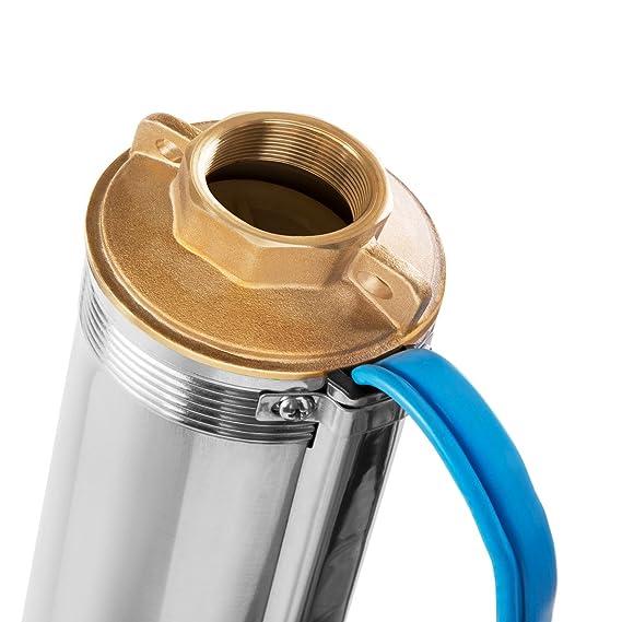 GREENCUT BAS125C Bomba de Agua 1250 W, 240 V, Plateado: Amazon.es: Bricolaje y herramientas