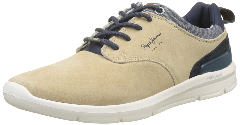 4b7a2cc526a Amazon.com  Pepe Jeans Sneakers PMS30409 847SAND 44 Beige  Shoes