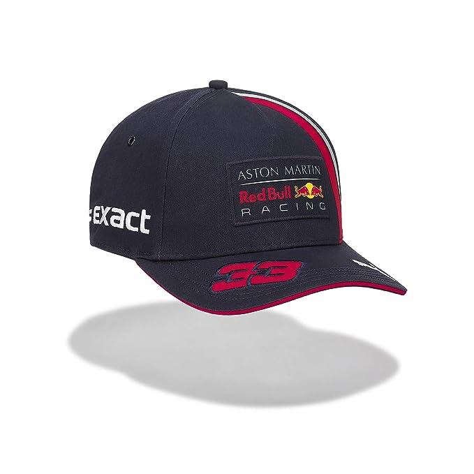 Red Bull Racing MAX Verstappen Driver Gorra, Azul Niños ...