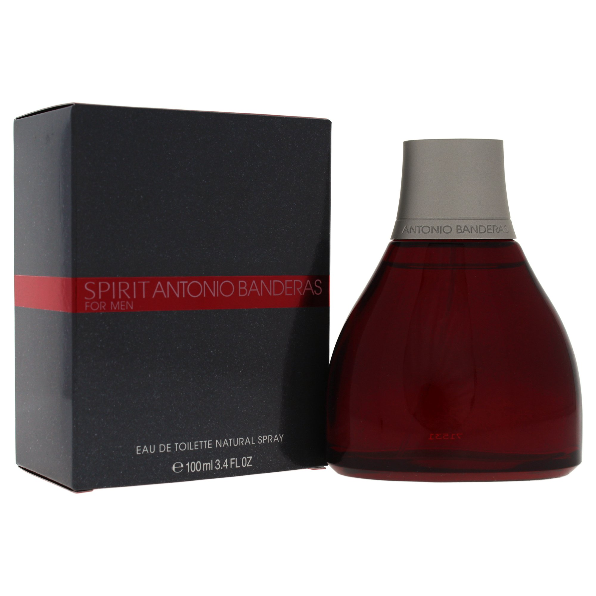 Amazon.com : Spirit By Antonio Banderas For Men. Eau De Toilette Spray 3.4 oz : Anotonio Banderas Spirit : Beauty