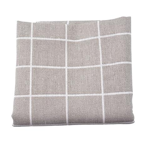 Souarts gris cuadrícula tela paquetes acolchar costura ...