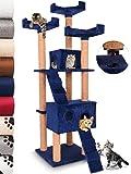 Leopet Schnellverschluss Kratzbaum Katzenbaum Katzenkratzbaum Spielbaum Kletterbaum 173 cm Hoch Möbel für Katzen in diversen Farben