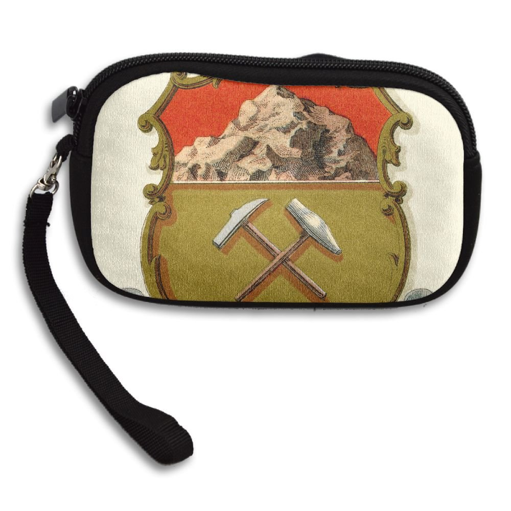 Colorado State Coat Of Arms Deluxe Printing Small Purse Portable Receiving Bag