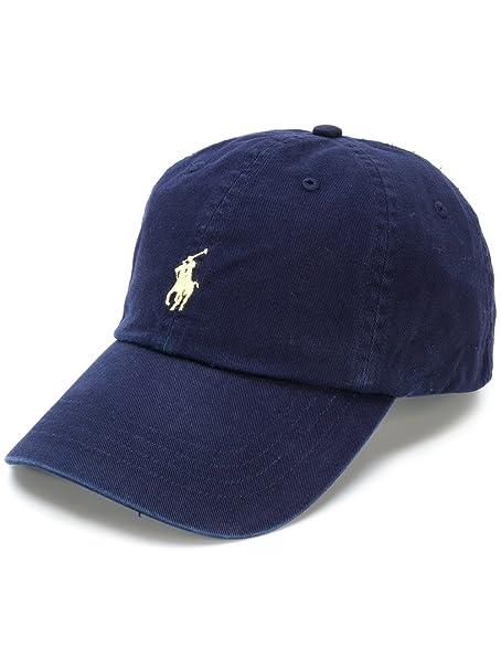 Polo Ralph Lauren Hat Gorra clásica Sombrero Hombre (BLU Navy)