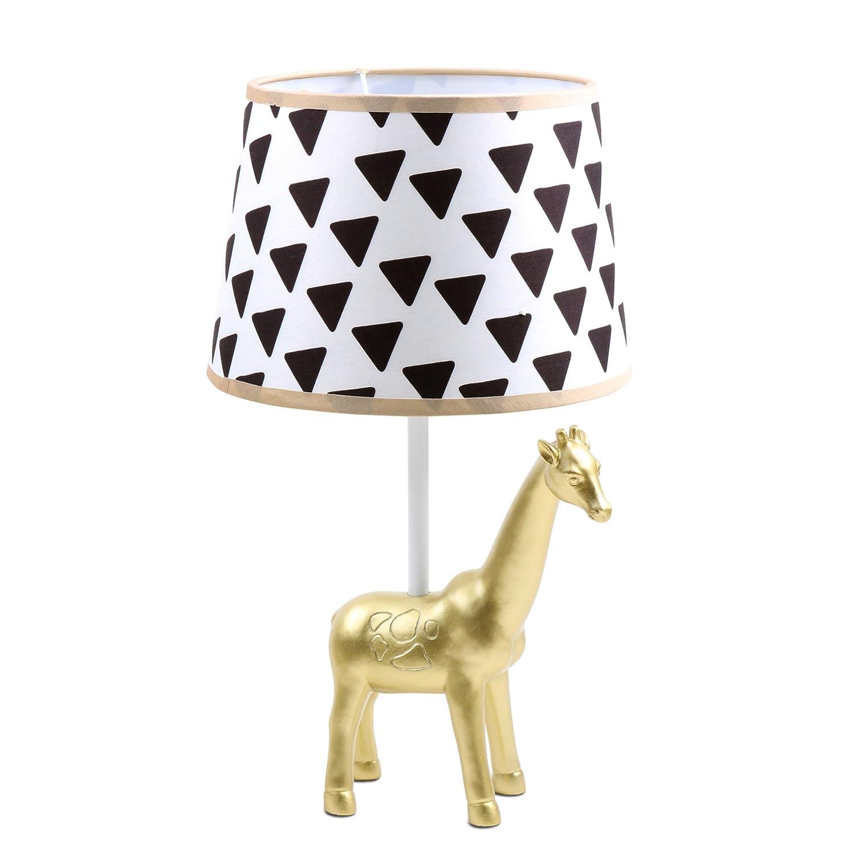 Giraffe lamp shade - Amazon Com Safari Gold Giraffe Lamp Base And Shade By The Peanut Shell Baby