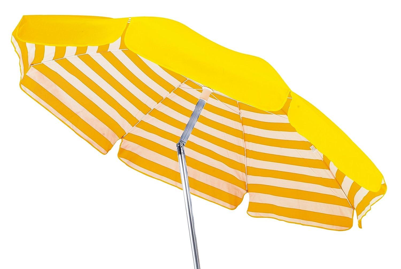 Maffei ombrellone rotondo Venezia Bianco/Giallo 120, 0 X 11, 0 x 11, 0 cm art181agialloriga 0X 11 0cm art181agialloriga Maffei srl