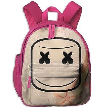 Toddler Kid Marshmello escuela Mochilas personalizada preescolar hombros bolsa para niños niñas: Amazon.es: Hogar