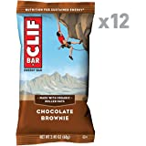 CLIF BAR - Energy Bar - Chocolate Brownie - 2.4 Ounce Protein Bar, 12 Count