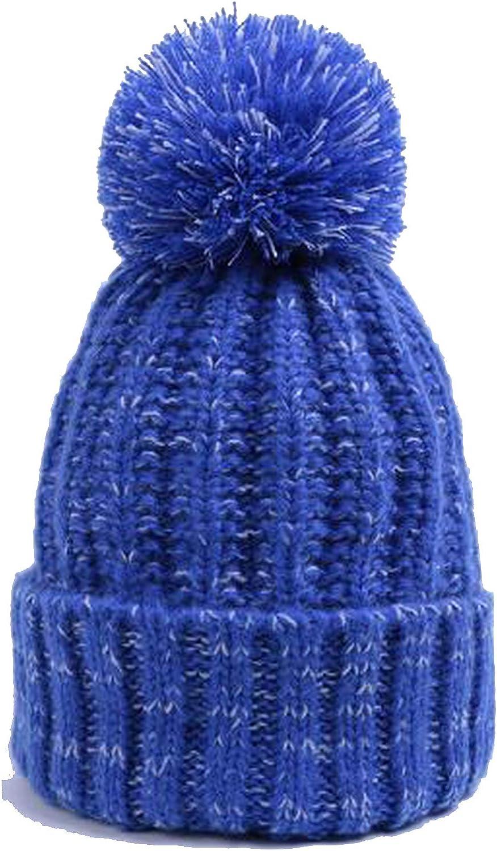 Women Winter Hats Fur Velvet Knitted Hat Pompoms Girls Warm Caps Man Beanies Female Male Cap