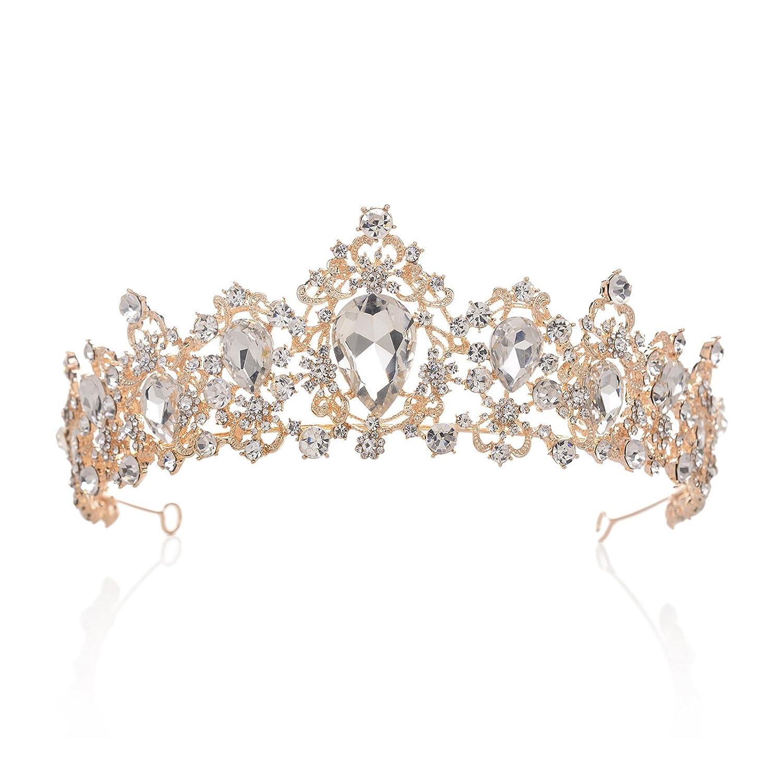 Kristall Windung Hochzeit Blaue Saphirringe Multi Layer Zircon Prinzessin.