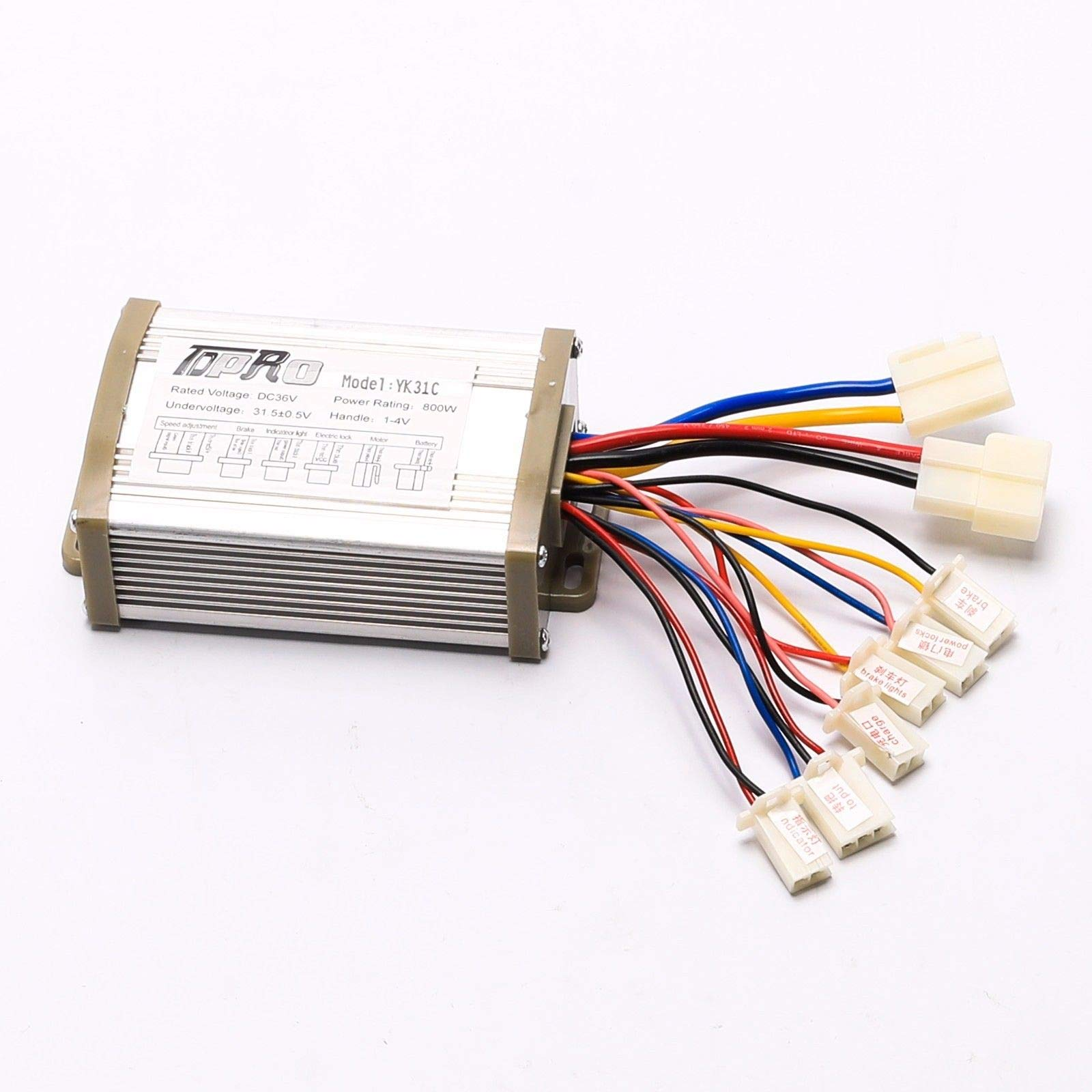 36V 800w Brushed Speed Control Unit Controller