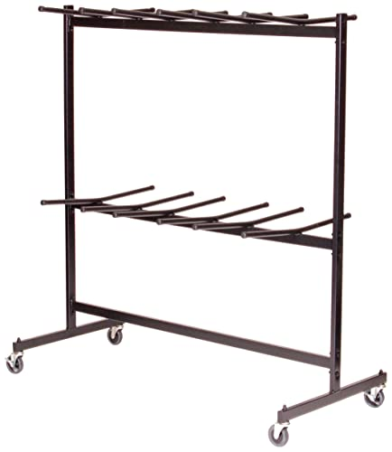 Correll C84 Truck for Folding Chairs, Holds up to 60-84 Chairs, Hanging style, 31 x68 x72 H, Commercial Duty