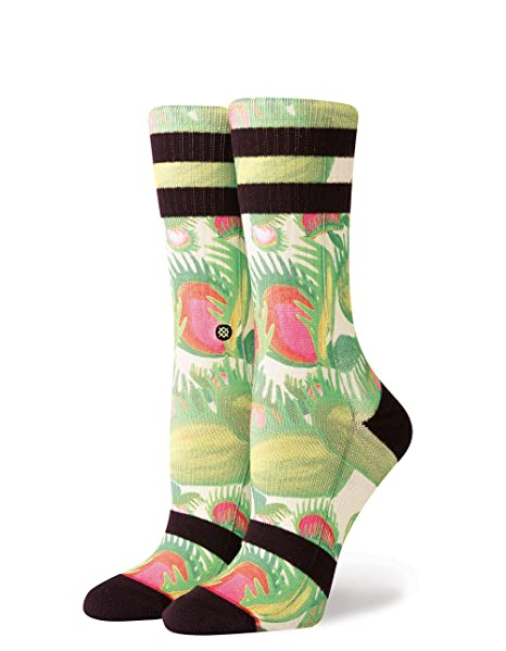 Stance Calcetines Mujer Gotcha Verde (M, Verde)