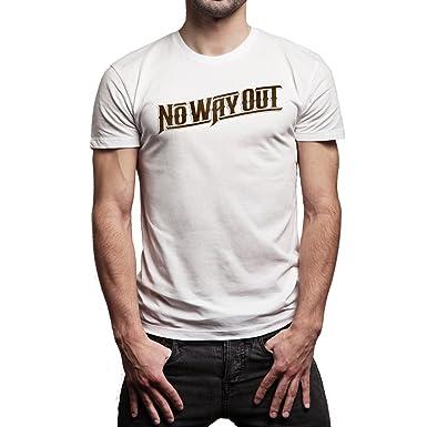 Wwe Logo No Way Out Background Xxl Herren T Shirt Amazonde Bekleidung