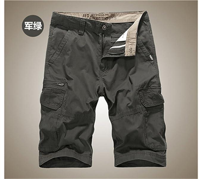 mode de vente chaude vente en magasin trouver le prix le plus bas Amazon.com: New Men Cargo Shorts Summer Bermuda Homme Male ...