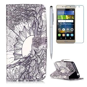 Amazon com: Huawei Y5 II / Huawei Y5 2 Case, Mellonlu Pattern