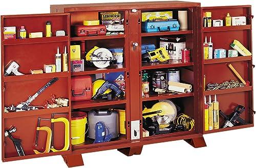 Jobox 1-694990 Heavy Duty 2 Door Bin Cabinet
