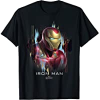 Marvel Avengers Endgame Iron Man Splatter Camiseta