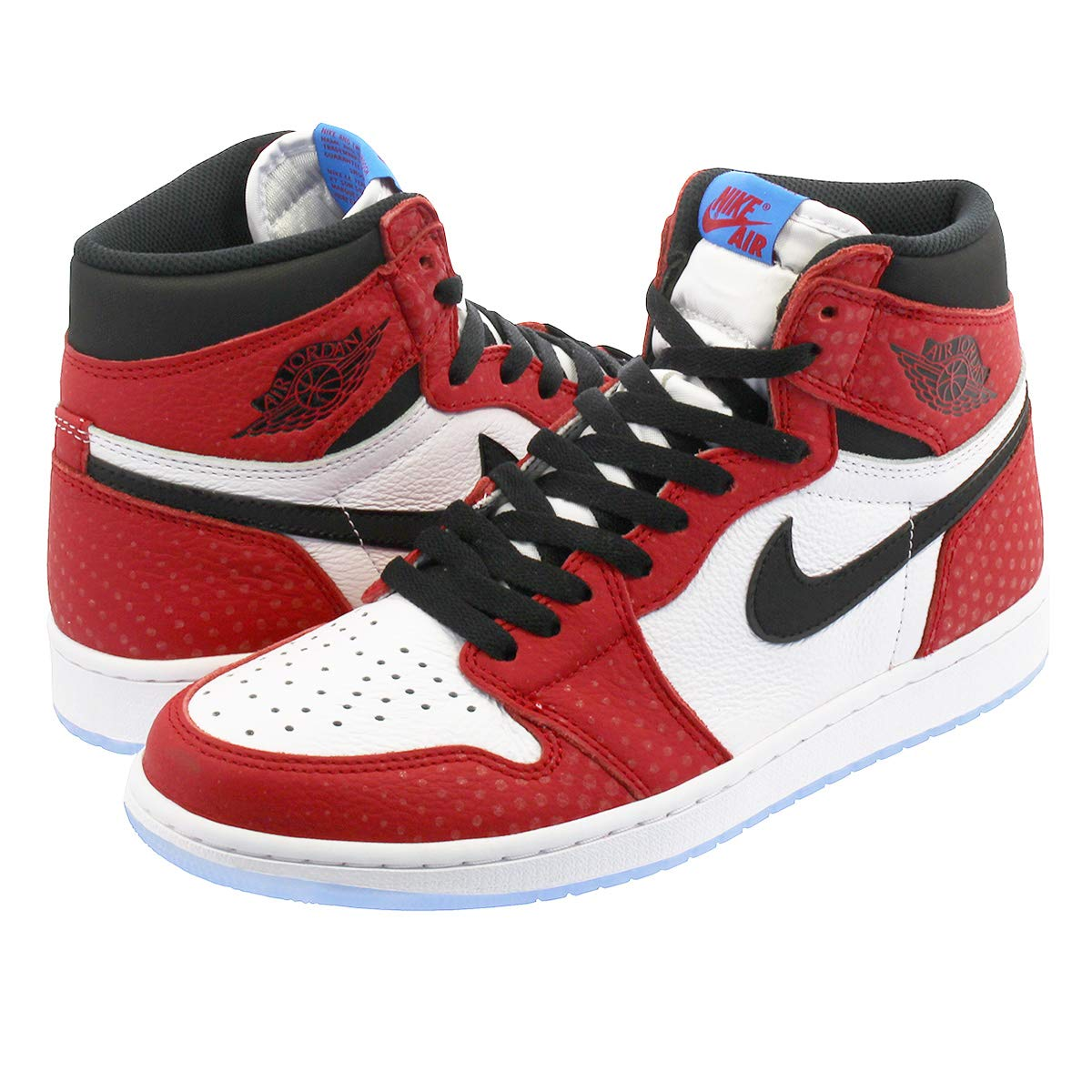 [ナイキ] AIR JORDAN 1 RETRO HIGH OG GYM 赤/白い/PHOTO 青/黒 【ORIGIN STORY】【SPIDERMAN】 [並行輸入品]  29.0 cm