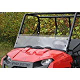 Super ATV Polaris Ranger Midsize Half Windshield
