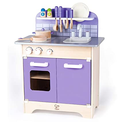 USA Toyz Play Kitchen Set – Hape Kitchen Sets of Kids, Wooden Toys Kitchen  Playset with 13 Toy Kitchen Accessories for Kids Kitchen Set for Toddlers