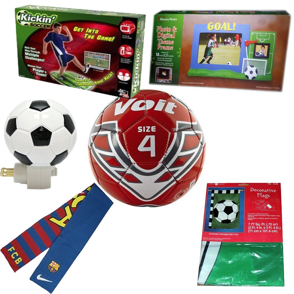 Child's Soccer Gift Bundle Ages 6+ [6 Piece] by Unknown