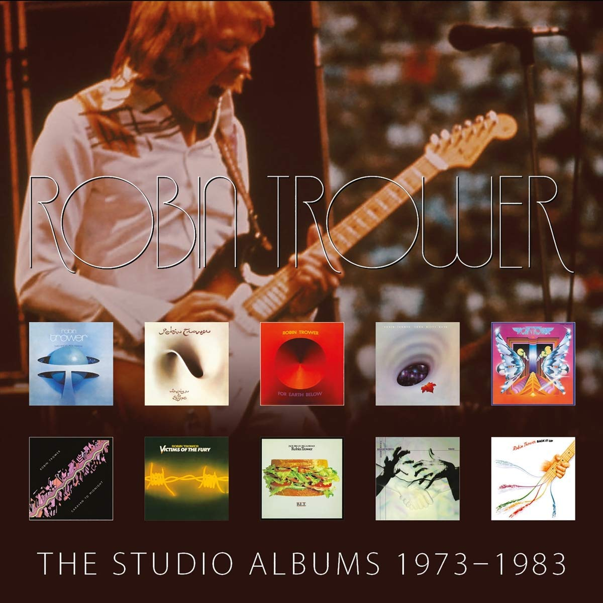 The Studio Albums 1973-1983 by Chrysalis Records