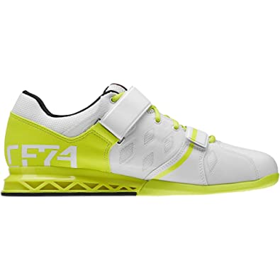 5c6f161bb70 Reebok Crossfit Lifter Plus 2.0 Mens Weightlifting Trainer Shoe White - UK  7.5