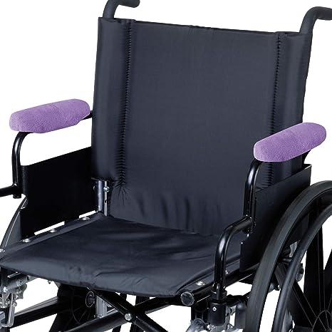 Amazon.com: Reposabrazos para silla de ruedas WAP9-03Z de 9 ...