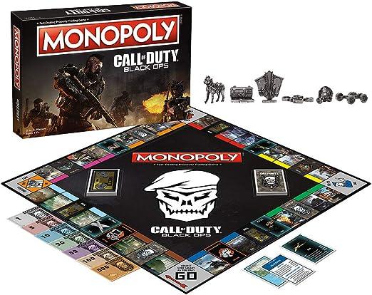 Monopoly Call of Duty Black Ops Edition Board Game - Ingles: Amazon.es: Juguetes y juegos