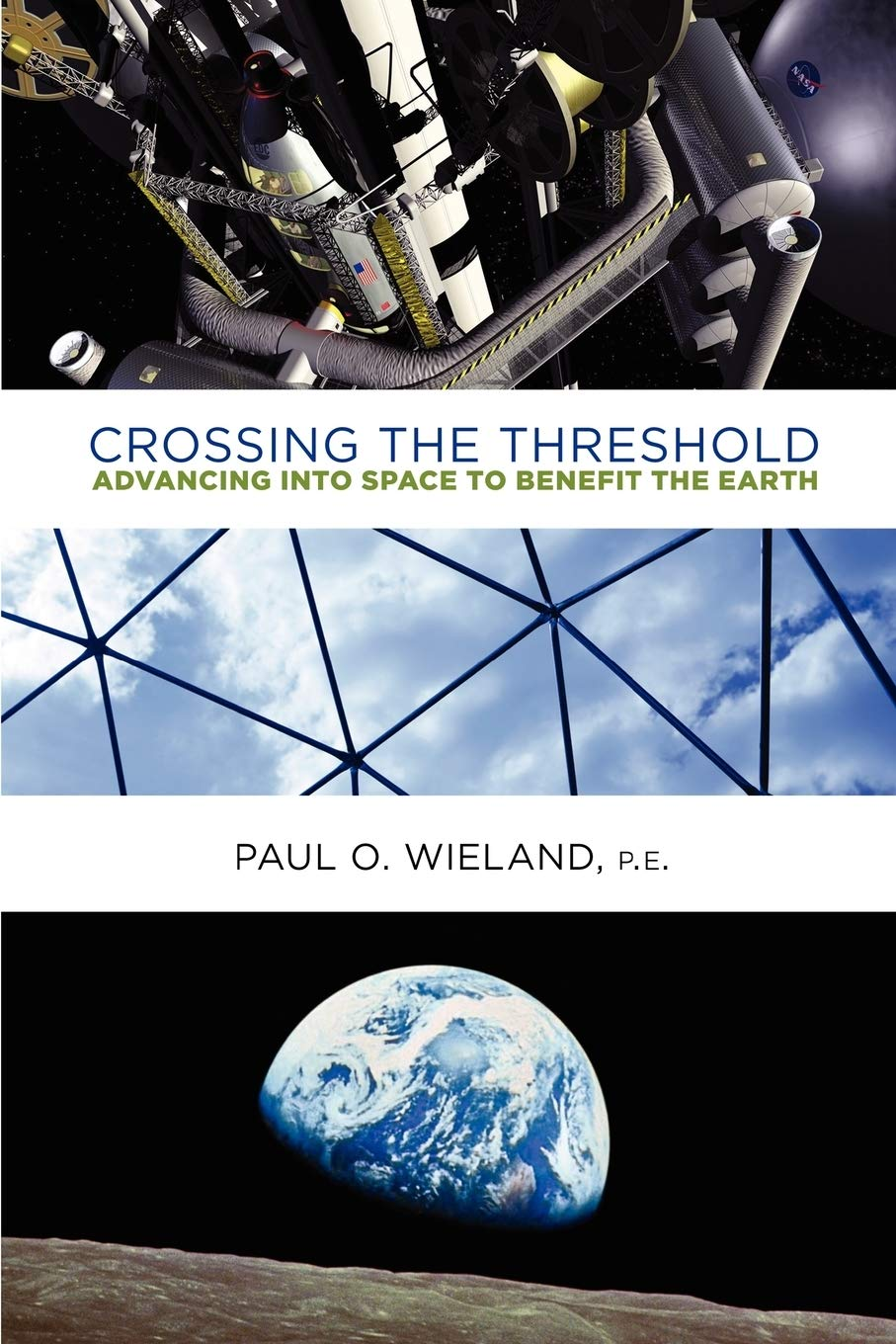 Crossing the Threshold: Advancing Into Space to Benefit the Earth, Wieland Pe, Paul O.