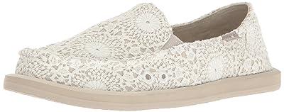 Sanuk Women's Donna Crochet Loafer Flat
