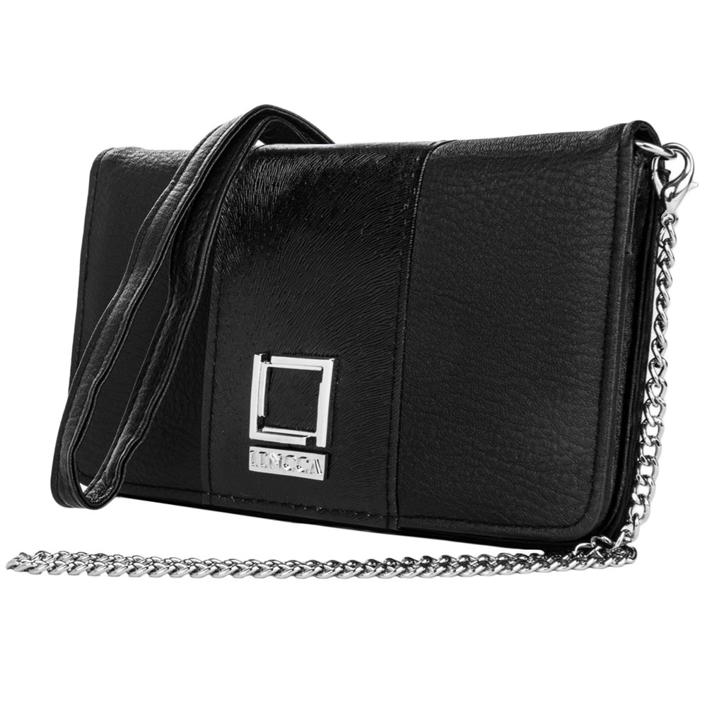 Black / Black Evening Clutch Bag for OnePlus by BestPriceCenter