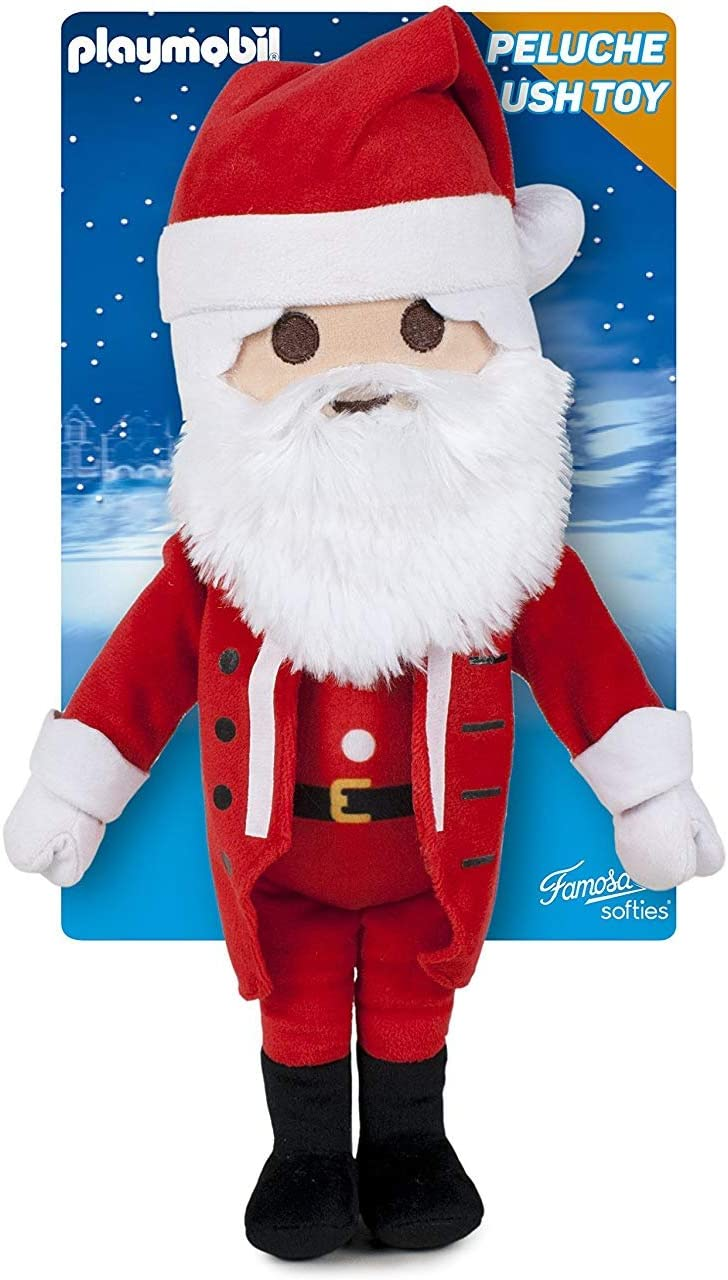 Playmobil 760016312 - Peluche Papá Noel 30 cm - EDICIÓN DELUXE