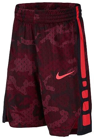 Nike Dry Elite - Pantalones Cortos de Baloncesto para niño, S, Red ...