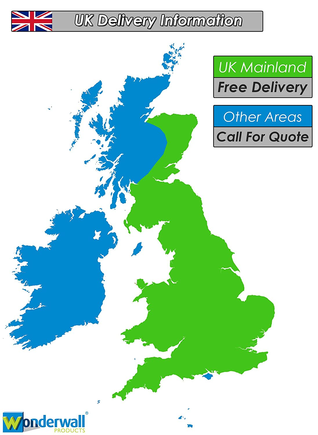 Map Of Uk Mainland.Wonderwall Mobile Coloured Lectern Standing Desk Choice Of 3