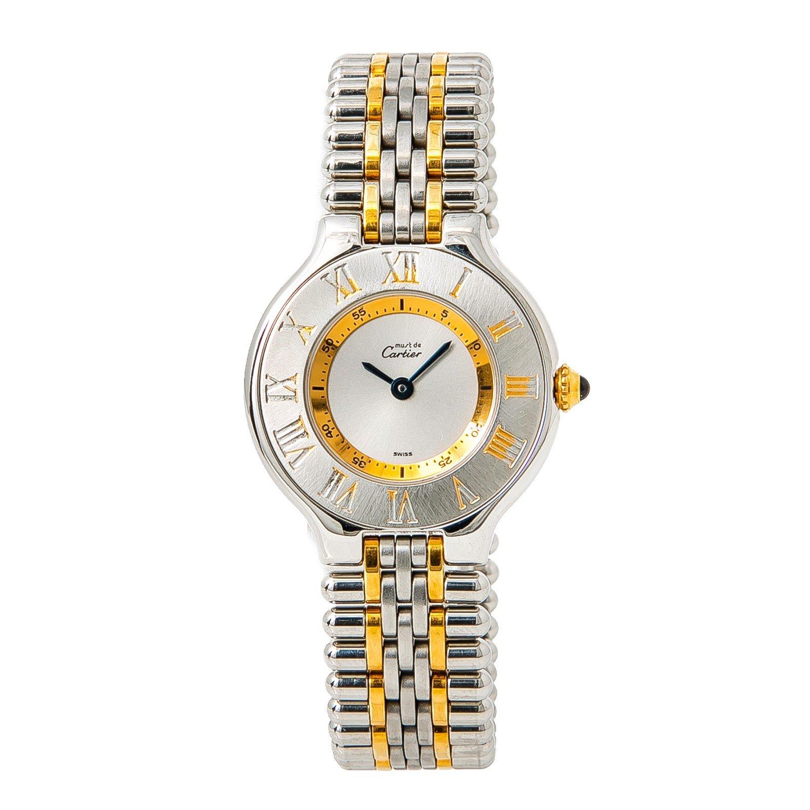 Cartier Must 21 quartz womens Watch 1340 (Certified Pre-owned)