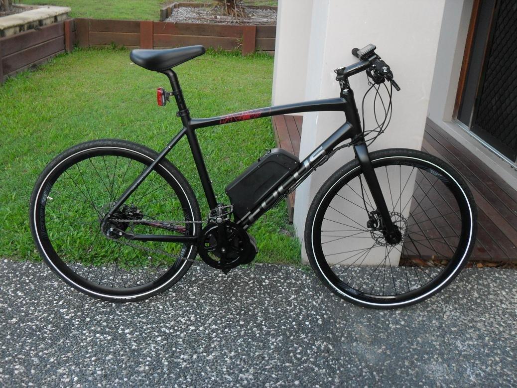 Electric Bike Bafang 8fun Mid Drive Crank Motor 48V 750W BBS02
