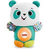 Fisher-Price Linkimals Panda, juguetes de aprendizaje para bebés + 9 meses (Mattel GXD86)