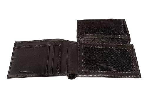 7c225b1ff6 Portafoglio uomo GIANFRANCO FERRE' moro in pelle porta carte di credito  A4368