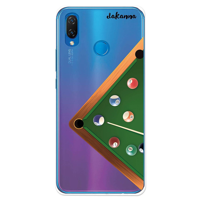dakanna Funda Compatible con [Huawei P Smart Plus] de Silicona ...