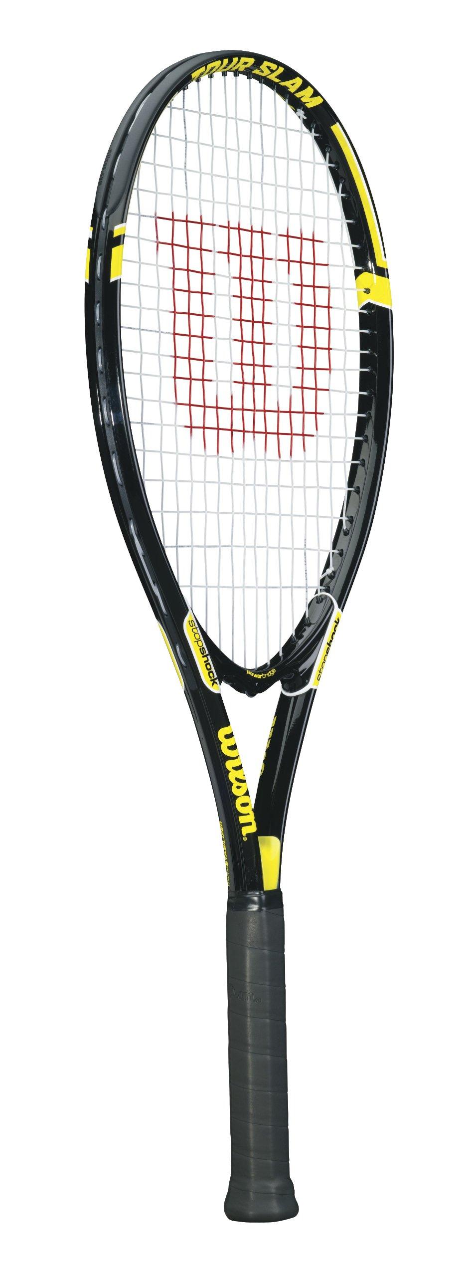 Wilson Tour Slam Adult Strung Tennis Racket, 4 3/8