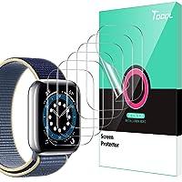 TOCOL 6 sztuk folii ochronnej kompatybilna z Apple Watch Series 6 SE 5 4 44 mm Series 7 45 mm przezroczysta HD miękka…
