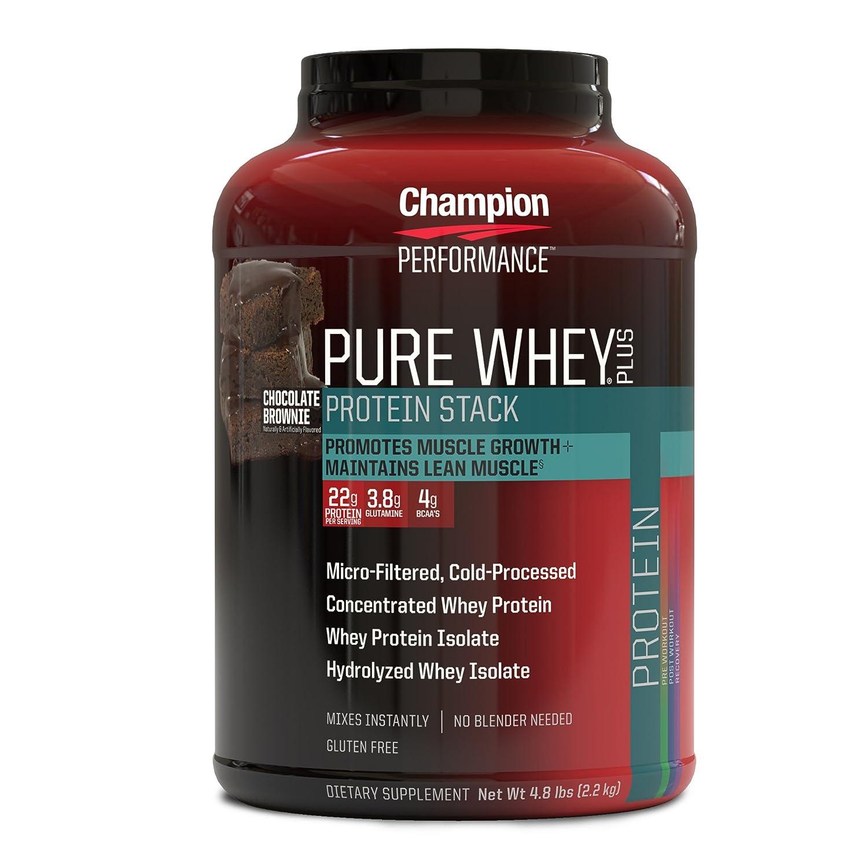 Amazon Champion Performance Pure Whey Plus Protein Stack