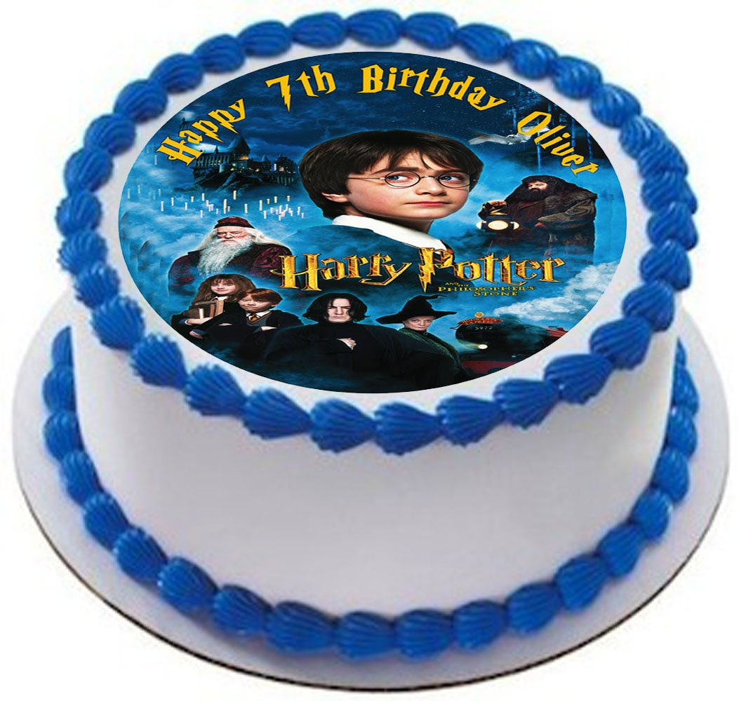 Kuchendekoration Kuchendeckel Harry Potter Motiv Y1