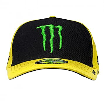 b8df8443ebe Valentino Rossi Monster Energy Yellow SP17 Sponsor Adjustable Cap ...