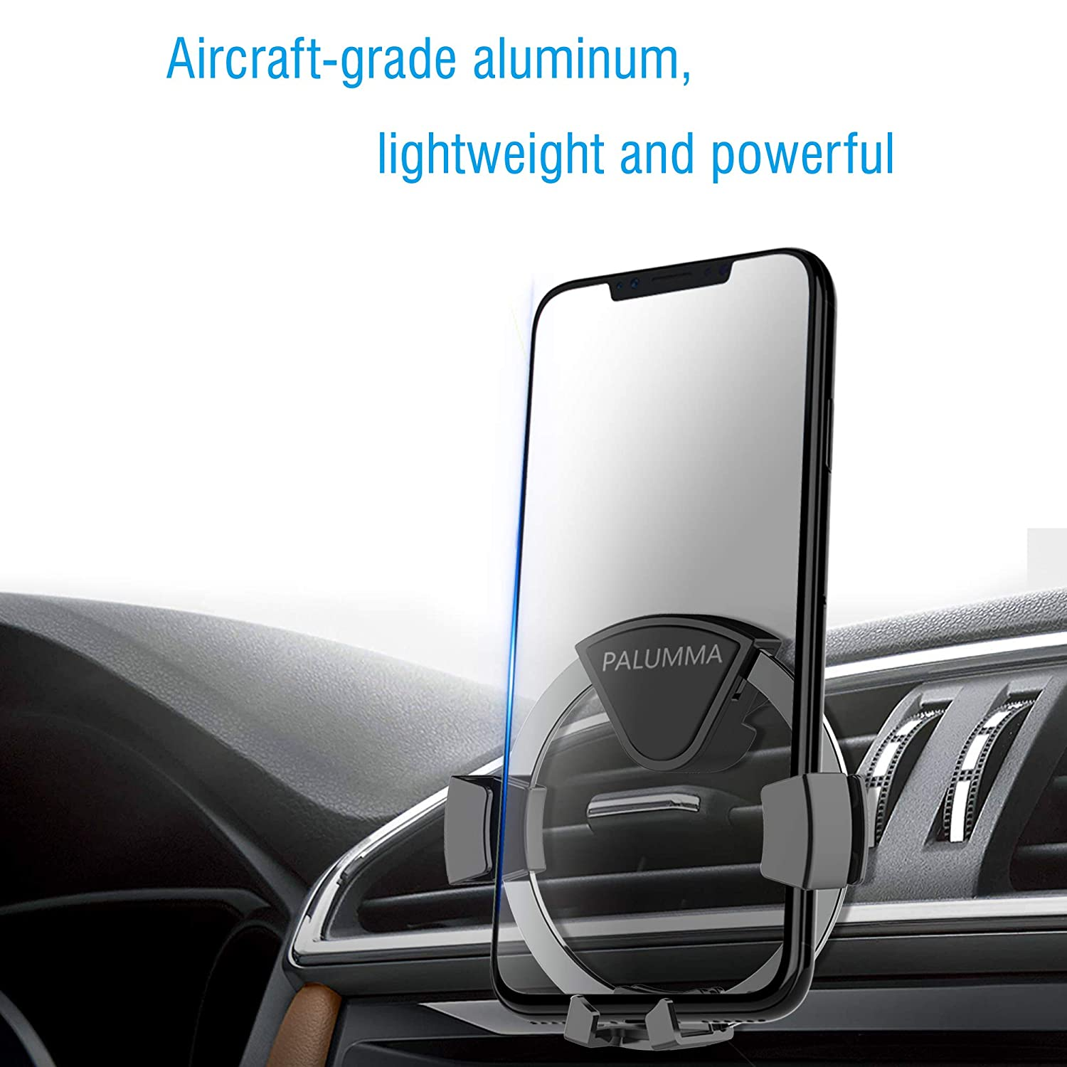 Sony Palumma Air Vent Car Phone Holder Auto-Clamping Handsfree Cellphone Encircling Gravity Car Mount Cradle Compatible with iPhone XS//X//8//7//6s//Plus LG Samsung Note 9// S9//S9 Plus//S8 HTC 4350465340