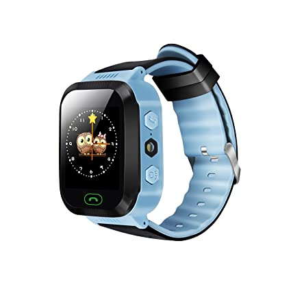 Amazon.com: ykd y21g Smart Watch para niños GPS Tracker ...